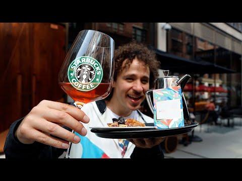 Así es el Starbucks MÁS LUJOSO del mundo | Starbucks VIP ☕️💰