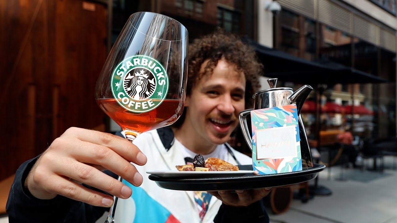 Download Así es el Starbucks MÁS LUJOSO del mundo   Starbucks VIP ☕️💰