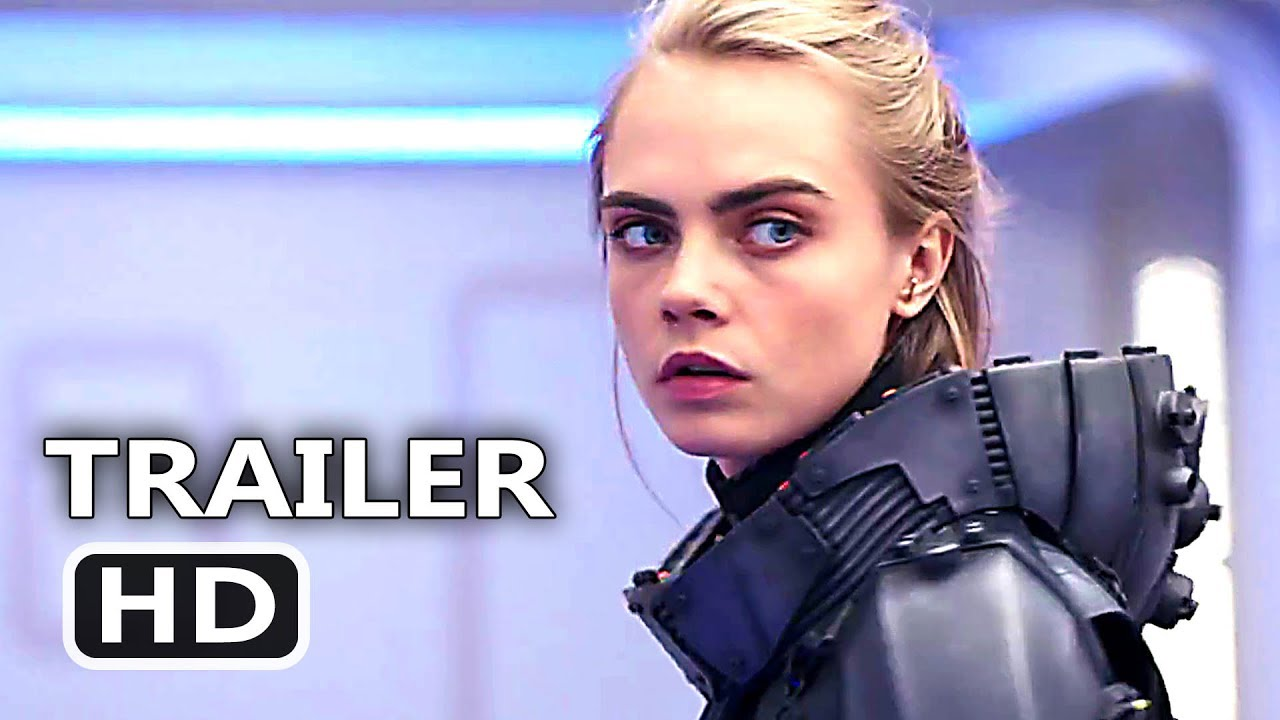 Valerian Space Is Magic Trailer 2017 Cara Delevingne Rihanna