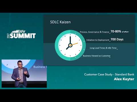 Standard Bank: The Journey to Agile at Scale - SAFe Summit 2017