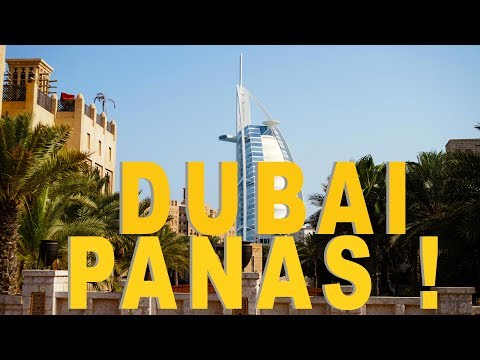 Transit 18 jam di dubai - Travel vlog (part1)