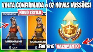 FORTNITE-COSMETIC BUGADOS and NEW STYLE OF RENEGADE RAIDER
