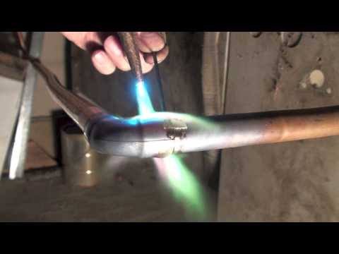 How to braze copper with sil-phos brazing rod