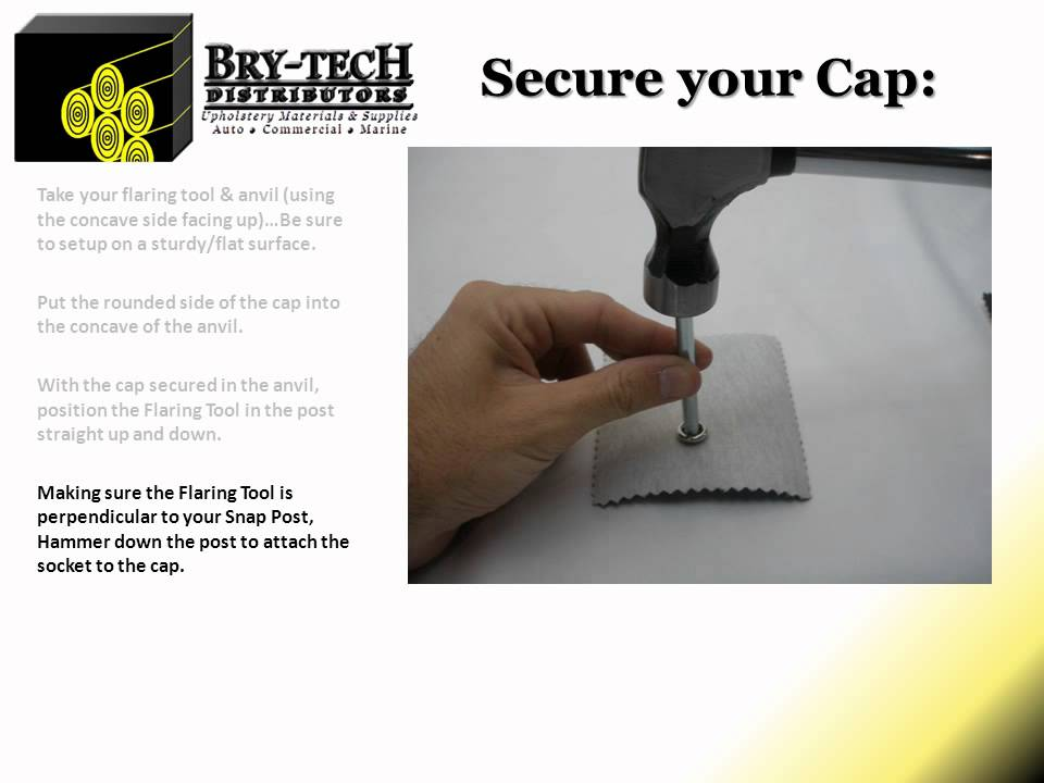 How To Attach Snap Fastener