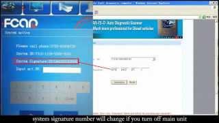 регистрация и обновление диагностических сканеров fcar