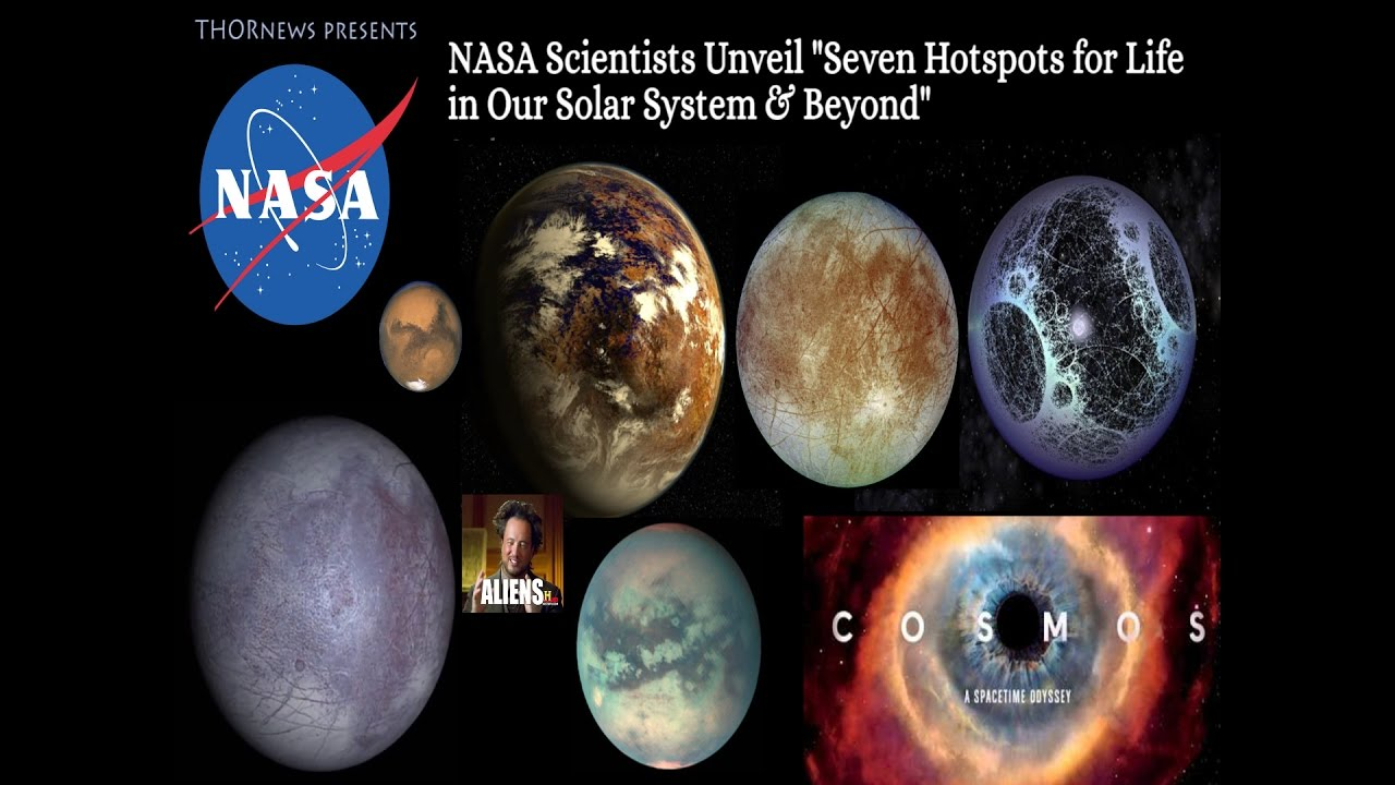 NASA Scientists Unveil the top 7 Hotspots for Alien Life ...