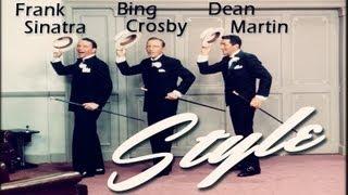 Frank Sinatra Dean Martin & Bing Crosby - Style 1964 [FullHD]