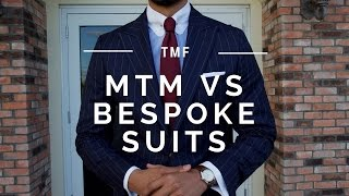The Difference Between Made to Measure and Bespoke Suits