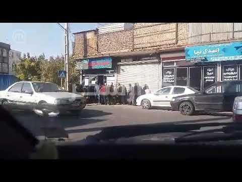 صف گوشت منجمد در تهران