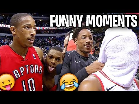 Kyle Lowry And DeMar DeRozan FUNNY MOMENTS