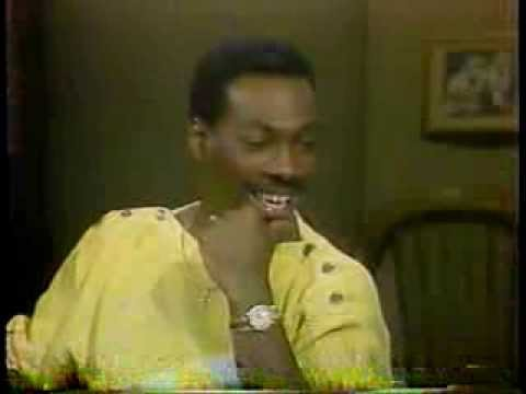 Eddie Murphy @ The David Letterman Show