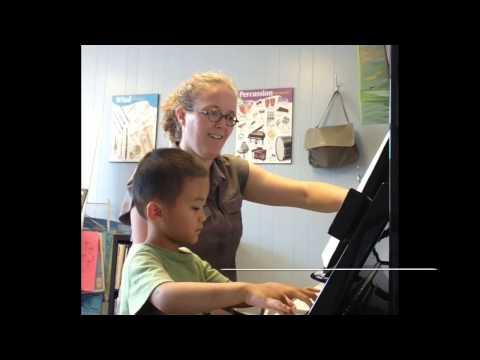 Cambridge Conservatory Preschool Music Lesson