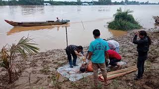Kinh hoàng phát hiện xác chết trên sông, bến đò năm bửu, sông Đồng Nai