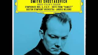 Shostakovich Under Stalin's Shadow : Symphony n.9 / Andris Nelsons, BSO (Studio Masters) 2016