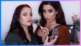 Ich schminke meine Freundin 💘 Makeup Transformation 🤡 Jolina Mennen