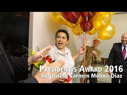 President's Award 2016: Surprising Carmen