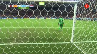 WK2014 Nederland - Spanje met geluid van Radio 1 | Tweede helft