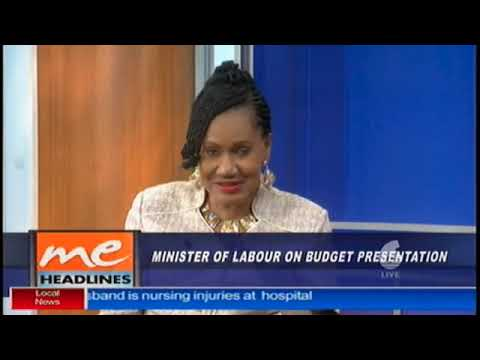 Labour Minister interview on TV6 Pt1