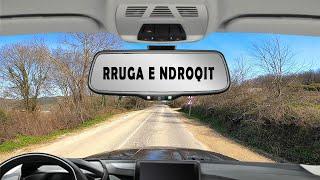 Driving to Tirana from Durrës Rruga Vjetër Nga Ndroqi Albania 2020 Roof Cam 4K