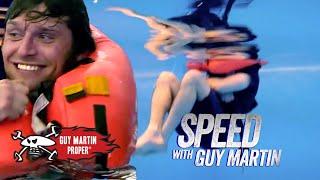 Guy trains to survive emergencies at sea | Guy Martin Proper