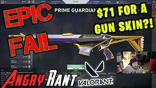 AngryJoe opens the Valorant Store...  - Angry Rant!