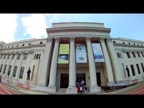 Sightseeing in Manila: NATIONAL MUSEUM ART GALLERY