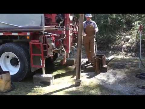 Water Well Drilling - Kicking Horse Water Services Golden, BC