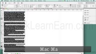 Adobe indesign CS6 tutorials: How to design build make a tri-fold brochure the right way easy 123