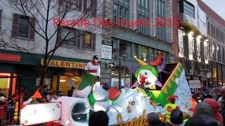 Parade Des jouets  Québec 2015 (partie 1)Rue Saint-Joseph