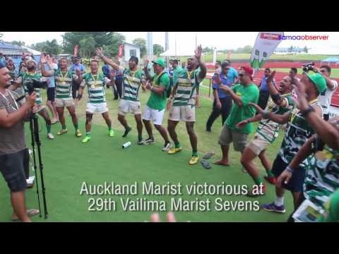 Auckland Marist victorious at 29th Vailima Marist Sevens
