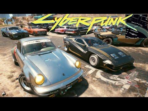 CyberPunk 2077 Xbox Series X vs HUGE 40 CAR MEET! First Impressions Driving Porsche/Quadra/Bugatti