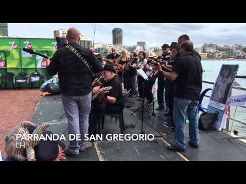 LOS PARRANDEROS DE SAN GREGORIO DE TELDE  POR LUIS HERNÁNDEZ