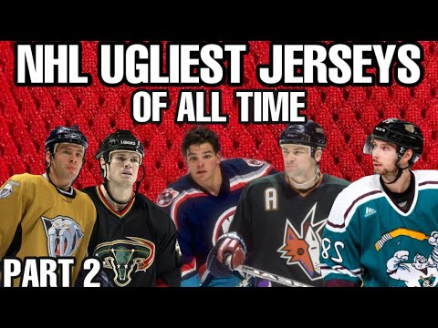 NHL Ugliest Jerseys Of All Time, do you agree?
