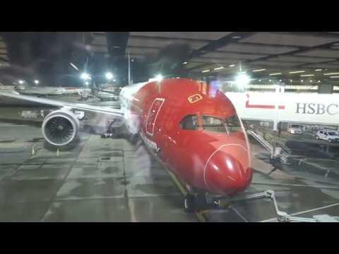 World's best low cost-long haul airline Norwegian Air London to Singapore Premium Economy, B787-9