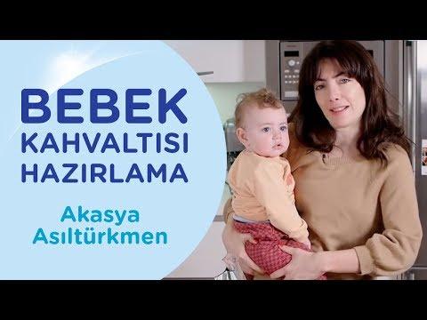 Akasya Asıltürkmen ile Bebek Rutinleri: Bebek Kahvaltısı Hazırlama | İlk Adımlarım