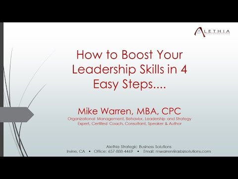 CMB Live | 4 Easy Steps That Boost Your Leadership Skills | Mike Warren