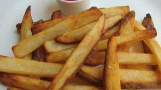 crispy fries recipe