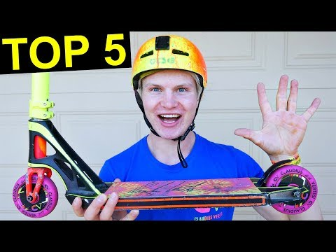 TOP 5 BEGINNER SCOOTER TRICKS!
