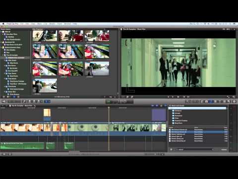Final Cut Pro X Tutorial Pt. 30 - Sound Effects Library