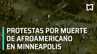 Protestas en Minneapolis por la muerte de George Floyd – Las Noticias