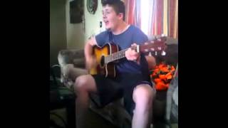 Funny Acoustic Gangnam Style cover