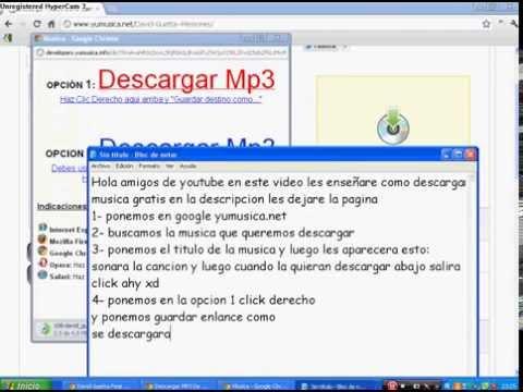 Como Descargar Musica Gratis Para Tu Mp3  - FACIL Y RAPIDO Y SIN VIRUS!