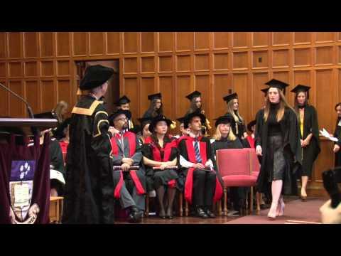 Graduation Ceremony - Wednesday 29th of April 11am