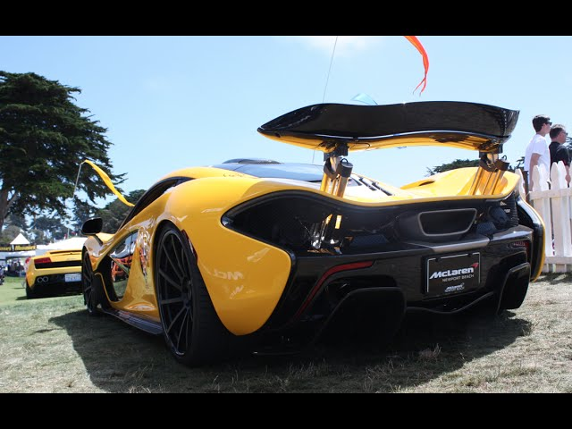 Monterey Car Week 2014 Veyrons, 918, Hypercar Madness!