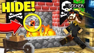 UNLOCKING THE CURSED ITEM! | PIRATE HIDE & SEEK! - Minecraft Mods w...