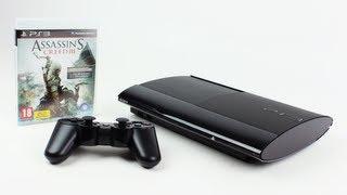 Крід PS3 супер тонкий вбивці 3 пачки розпаковування (Плейстейшен 3 Супер Слім 500 ГБ) | Unboxholics