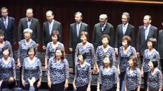 《百灵合唱团》在新加坡国际华文合唱节的演唱