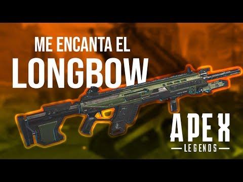PRACTICANDO EL LONGBOW ¿EL SEGUNDO MEJOR SNIPER DE APEX?