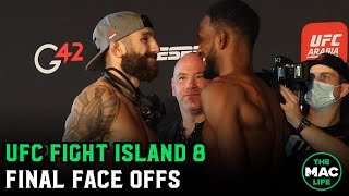 UFC Fight Island 8: Final Face Offs Main Card