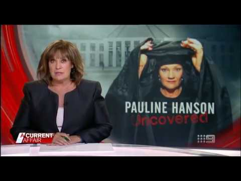 Pauline Hanson visits Lakemba with Leila Lakemba from A Current Affair